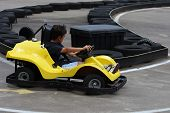 Go-Cart And Track
