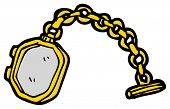 antique locket cartoon