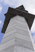 Tall Tv Tower With Clipping Path