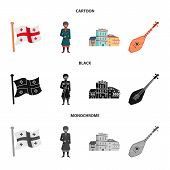Vector Design Of Culture And Sightseeing Icon. Collection Of Culture And Originality Stock Vector Il poster