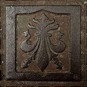 Vintage metal decoration