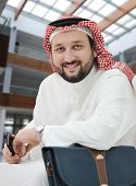 Arabic businessman Middle east