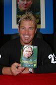Shane Warne- Book Signing