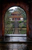 Doorway And Temple, Vietnam