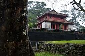 Red Temple, Minh Mang Tombs, Vietnam
