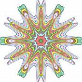 multiple colored eighteens stars