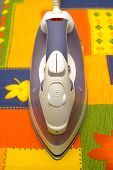 Top Of Domestic Washing Steam Iron poster