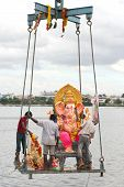 Ganesh Immersion-Hindu festival