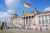 the Parliament building of the German Empire.