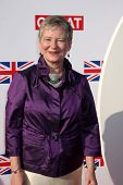 LOS ANGELES - FEB 24:  The British Consul General Dame Barbara Hay arrives at the GREAT British Film