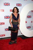 LOS ANGELES - FEB 24:  Fiona Shaw arrives at the Great British Film Reception at the British Consul General's Residence on February 24, 2012 in Los Angeles, CA.