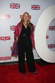 LOS ANGELES - FEB 24: Geraldine James arrives at the GREAT British Film Reception at the British Con
