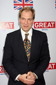 LOS ANGELES - FEB 24:  Julian Sands arrives at the Great British Film Reception at the British Consu