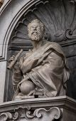 Sculpture of Galileo