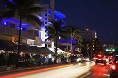 Evening By Ocean Drive