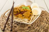 Dry Curry Mee