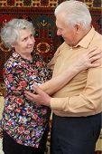 Dancing Senior Couple