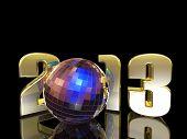 2013 New Year Disco Ball