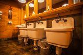 Classic Public Bathroom