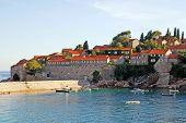 Famous Island-hotel Sveti Stefan, Montenegro