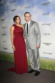 LOS ANGELES - DEC 6:  Matt Damon, Luciana Baroso arrives at the 'Promised Land' Premiere at Director