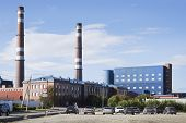 Kandalaksha Aluminium Plant. North Of Russia