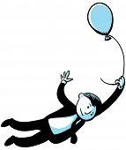 Balloon Businessman
