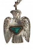 Silver Thunderbird Pendant