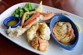 Seafood Combo Dinner
