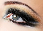 Creativity Golden-Brown Modern Make-Up