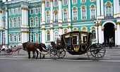 Horse-drawn Carriage at The Hermitage