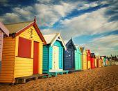 Beach Bathing Boxes In Australia