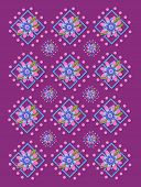 Garden Trellis In Purple Two
