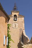 Tower In Village Of Roussillon (france)