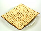Matzo On A Plate