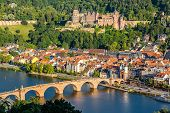 View on Heidelberg, Germany