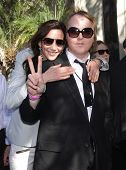 LOS ANGELES - FEB 09:  Nancy Shevell & James McCartney arrives to the Walk of Fame Ceremony for Paul
