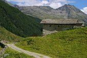 Tranquil Alpine Scenery