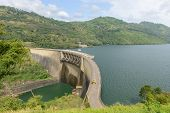 Sri Lanka. Hydroelectric Power Plant On The Lake.