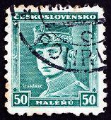 Postage Stamp Czechoslovakia 1935 General Milan Stefanik