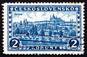 Postage Stamp Czechoslovakia 1926 Hradcany At Prague