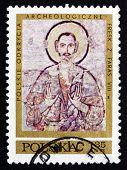 Postage Stamp Poland 1971 Hermit Anamon, Fresco