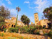 Andalusian Gardens In Rabat, Morocco