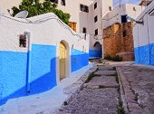 Kasbah Of The Udayas In Rabat