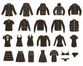 image of pullovers  - Set of women - JPG