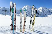 foto of winter sport  - Skiing - JPG