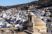 White town, Montefrio, Spain.