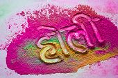 Festival of colours (text in hindi)