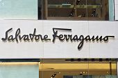 Salvatore Ferragamo Company Sign