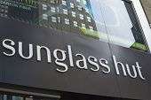 Sunglass Hut Company Sign